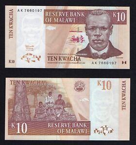 Malawi 10 kwacha 1997 FDS/UNC  A-07