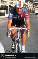 PHIL ANDERSON Team MOTOROLA 91 1991 Cycling cyclist cyclisme australian Champion