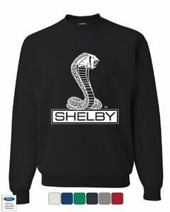 Shelby Cobra Sweatshirt American Classic Muscle Car Ford Mustang Sweater