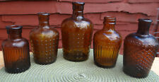 "5 VINTAGE 1920's.KJ-JUG POISONS ""LYSOL"" VARIANT RUDY KUHN POISON BOTTLE WORKBOOK"