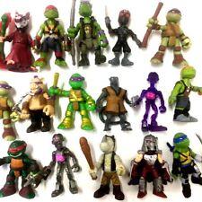 """random 5Pcs TMNT Rooftop Ruckus Battle Teenage Mutant Ninja Turtle 2"""" toy gift"""