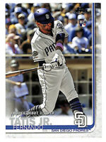 2019 Topps Update #US56 Fernando Tatis Jr Rookie Debut RC card Padres