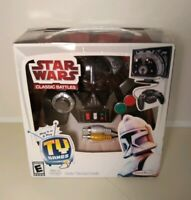 JAKKS PACIFIC STAR WARS CLASSIC BATTLES T.V. GAMES BEAND NEW FACTORY SEALED