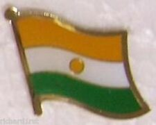 Hat Lapel Pin Tie Tac Push Flag of India NEW