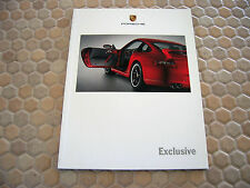 PORSCHE 911 997 CARRERA CAYENNE CAYMAN BOXSTER EXCLUSIVE BROCHURE 2006 USA Ed