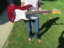 Fender Custom Shop Custom Deluxe Stratocaster Bing Cherry 2013 Collection NOS