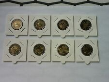 LOT 8 PIECES 2008 2 EURO COMMEMORATIVE NEUVES EMISES CETTE ANNEE