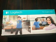 Logitech TV Cam HD HDMI Carl Zeiss Optics Webcam Remote Camera Wi-Fi Skype