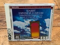 schubert - symphonie. sir neville marriner   cd