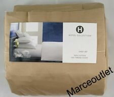Hotel Collection 525 Thread Count 100% Cotton King Sheet Set Light Bronze