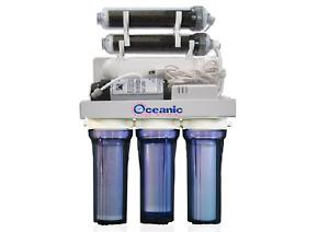150 GPD RODI Aquarium Reef Reverse Osmosis Water Filtration System 6 Stage +Pump