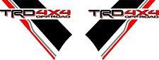 Toyota Hilux MK7 & 8 side TRD 4x4 stripe decals stickers AN120 AN130 AN10 AN20
