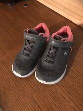 Toddler Girls Size 8.5 Champion Grey And Pink Sneakers