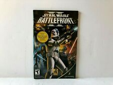 Star Wars Battlefront 2 PS2 Manual ONLY Playstation Insert Authentic