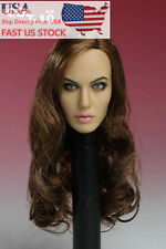 "CGL 1/6 Angelina Jolie Head Sculpt Model F 12"" Hot Toys Phicen Figure  USA Stock"