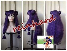 Ranma nibunnoichi --Shampoo cosplay anime Full  Wig