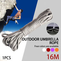 EF14 Outdoor Handicrafts Parachute Rope Camping Cord Tent Rope Optional