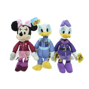 """Mickey and the Roadster Racers Plush 10"""" Minnie Mouse Daisy & Donald Duck"""