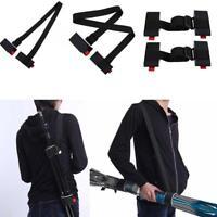 Adjustable Ski Carrier Shoulder Sling for Skiboard Carry Strap Belt Portable.