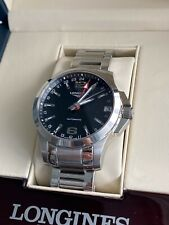 Longines Conquest L3.687.4 Automatic Men's Watch 41MM Steel
