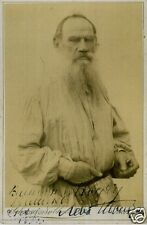 LEO NIKOLAYAVICH TOLSTOY (1828-1910) Signed Photograph - Author Writer preprint