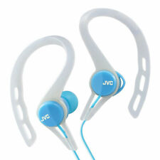 JVC In-Ear Stereo Sports Headphones Earphones HAECX20  Blue New Uk