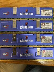 Kingston PC2-6400 1 GB DIMM 800 MHz DDR2 SDRAM Memory (KHX6400D2K2/2G)