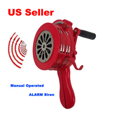 Pedal Car Siren with Mounting Bracket Hand Crank
