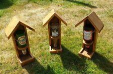 Beer Bottle Bird Seed Feeder