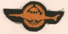 German Diver Swimmer Combat patch Frogman foreign insignia approx 4.25 in