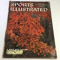 VTG Sports Illustrated Magazine October 28 1957 - A Walk Into Autumn