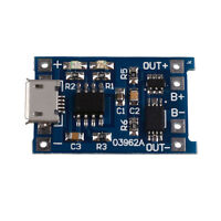 5V 1A Micro USB 18650 Li-Ion Battery Charging Board Charger + Protection