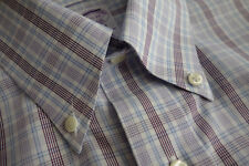 NWOT Brooks Brothers Non Iron Check Regular FIt Supima Button Down MSRP $92