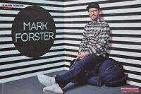 MARK FORSTER - A3 Poster (ca. 42 x 28 cm) - Clippings Fan Sammlung NEU