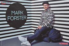 MARK FORSTER - A3 Poster (ca. 42 x 28 cm) - Clippings Fan Sammlung NEU