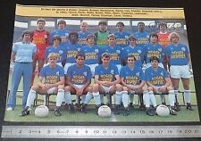 CLIPPING POSTER FOOTBALL 1985-1986 D2 US DUNKERQUE MARCEL-TRIBUT