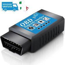 OBD2 Bluetooth Diagnosi Auto Scanner Lettore Codici Android Windows Phone OBD II