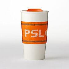 Starbucks Team PSL Double Wall Traveler Mug 10 oz PUMPKIN SPICE LATTE!