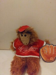 Vintage Alf Hand Puppet 1988 Burger King Orbiters Baseball Plush