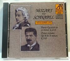Mozart and Schnabel Volume IV (EMI/Arabesque, 1988) (cd7008)