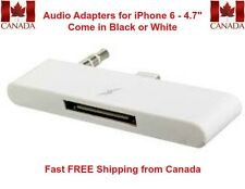 8-Pin to 30-Pin Audio Charge Sync Adapter/Converter for iPhone 6 - 4.7""