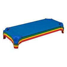 """Sprogs Deluxe Unassembled Stackable Daycare Cot with Easy Lift Corners, 52"""" W. 00004000"""