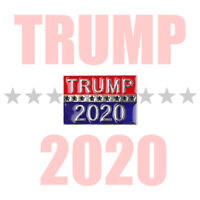 Trump 2020 Pin Republican Campaign Political Brooch America President Badge