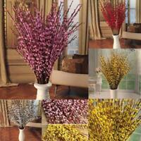 DIY Artifical Silk Flower Branch Floral Bouquet For Wedding Party Room Decor A++