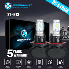 H13 LED Headlight Bulbs for Dodge Ram 1500 2500 3500 2006-2012 High Low Beam Kit