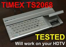 SINCLAIR TIMEX TS 2068 72K color computer, with video out.