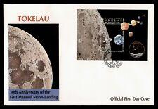 DR WHO 1999 TOKELAU FDC SPACE 30TH ANNIV APOLLO 11 S/S  C238926