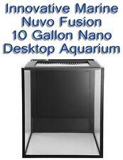 Innovative Marine NUVO Desktop Aquarium Fusion Nano 10 Gallon Fish Coral Tank