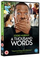 A Thousand Words DVD (2012) Eddie Murphy, Robbins (DIR) cert 12 ***NEW***