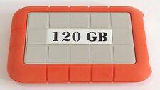 LaCie 120 GB External Rugged Hard Drive Storage FireWire USB Mac PC Neil Poulton